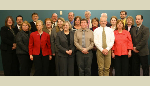 <h4>Graduates of the Beloit/Janesville CPM Program – February 13, 2009</h4>