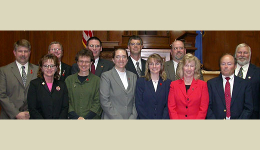 <h4>Graduates of the CPM Program from state and local governments – May 13, 2005</h4>