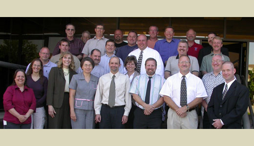 <h4>Graduates of the Marathon County Sheriff's Department Law Enforcement Program – June 12, 2007</h4>