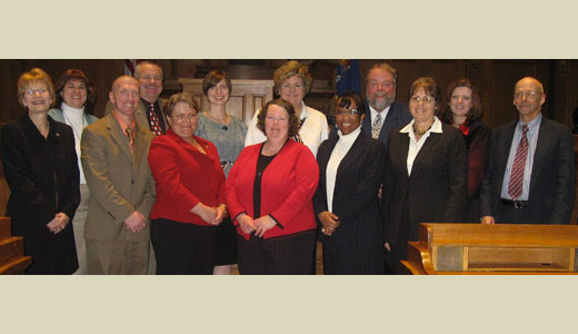 <h4>Graduates of the CPM Colleague Group Program – December 12, 2008</h4>