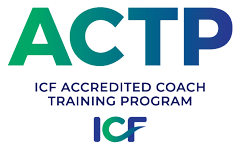 ACTP logo, ICF Accredited Coach Training Program