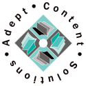 Adept Content Solutions logo