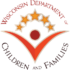 WI Dept of Children and Family logo