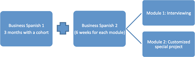 Business Spanish certificate module