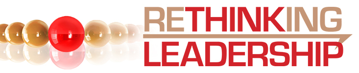 Rethinking Leadership conference banner