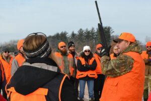 """UW-Madison sponsors a hunting event in Baraboo in conjunction with the MOOC """"The Land Ethic Reclaimed."""""""
