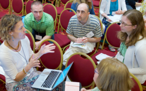 Educators refine their online teaching skills at the University of Wisconsin-Madison's Distance Teaching & Learning Conference.