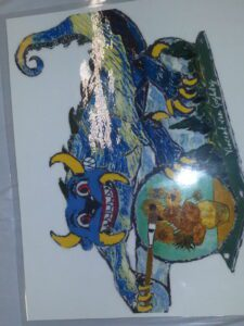 "painting of ""Vincent Van Goghdag"""