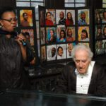 Rene Robinson as Maya Angelou singing with Robert Auerbach as Anton Rubinstein.