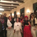Odyssey students dressed as historical figures