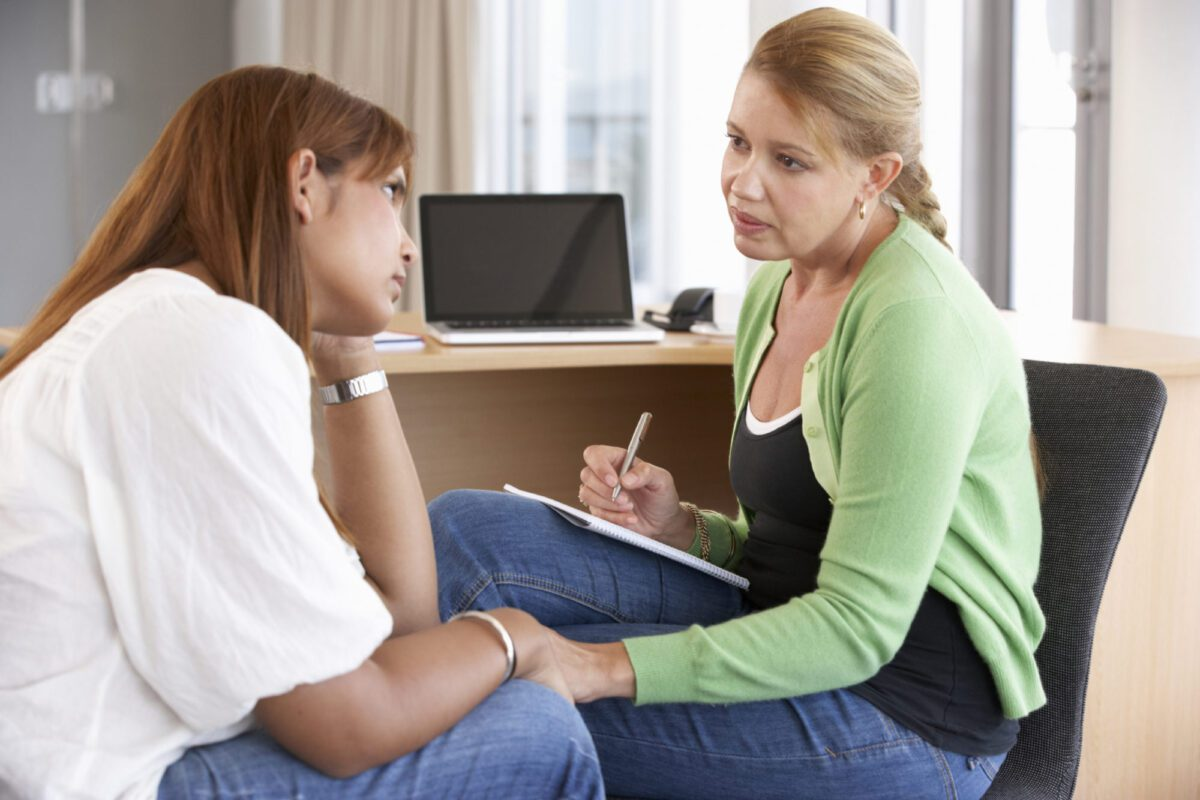 Young Woman Having A Counseling Session