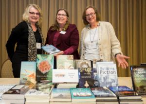 saleswomen and their books