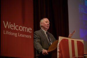 Neil Heinen presenting