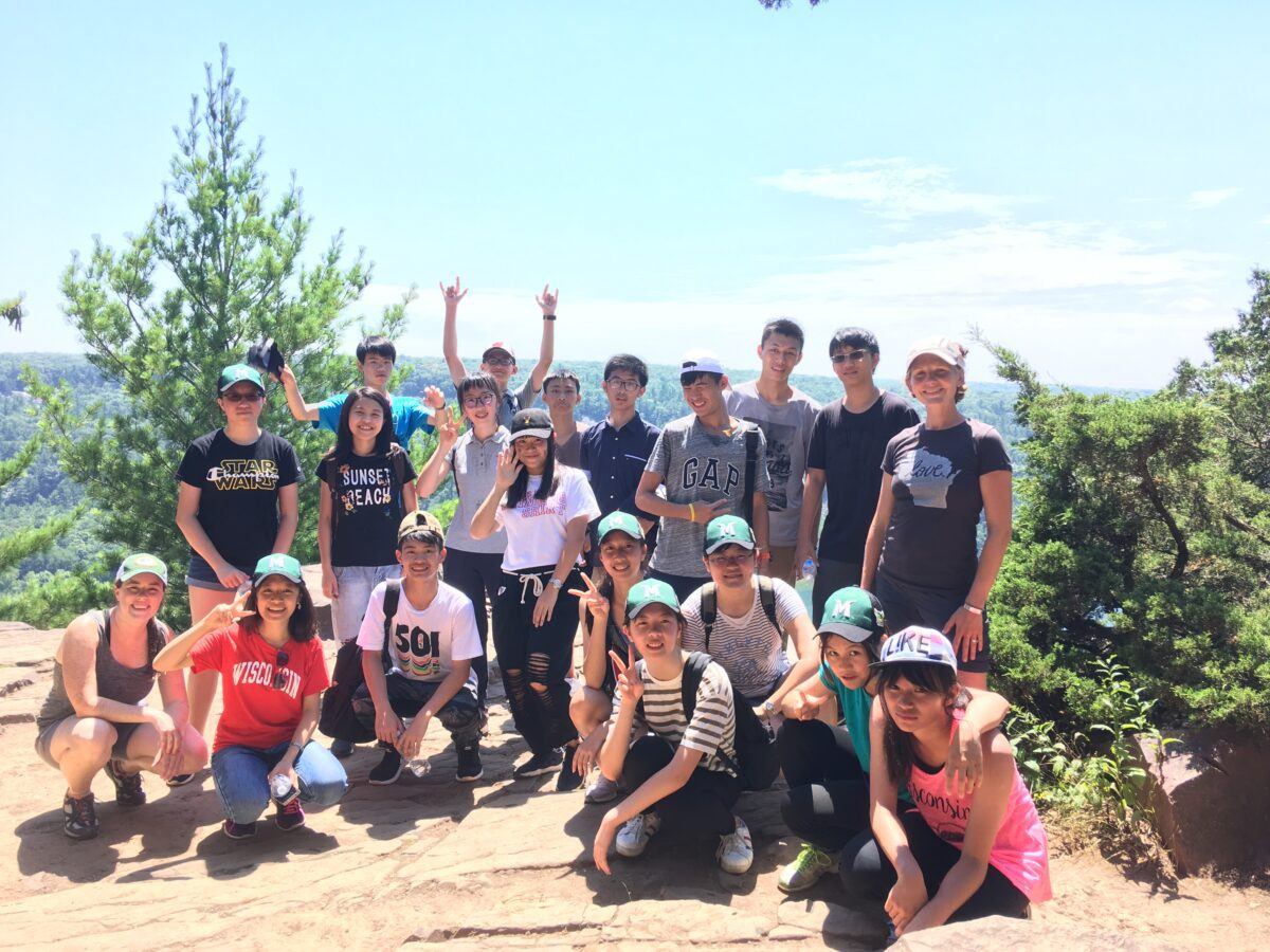 Ace students at Devil's Lake