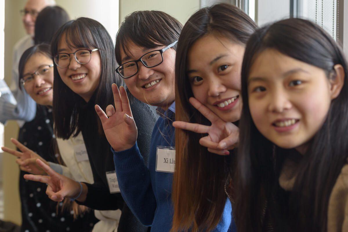 Smiling UW Advance students