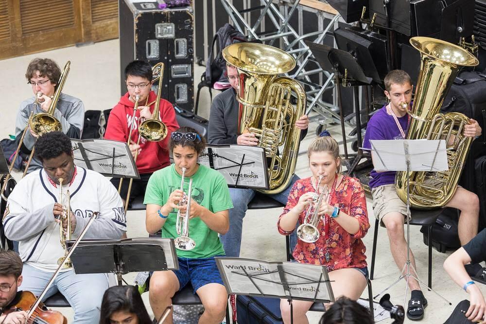 2017 Summer Music Clinic ensemble