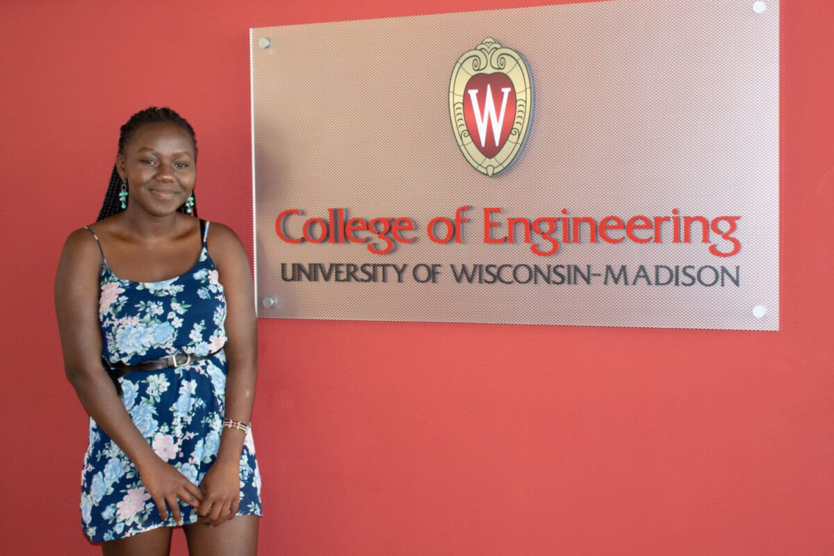 Gloria Omwanda, Engineering Summer Program