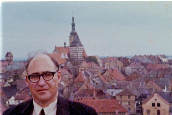UW-Madison history professor George Mosse