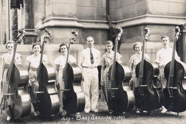 Bass Section July 1935