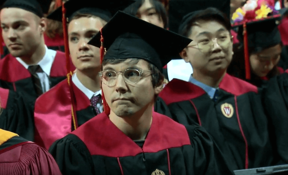 Returning adult students shine at University of Wisconsin–Madison's Winter Commencement Ceremony