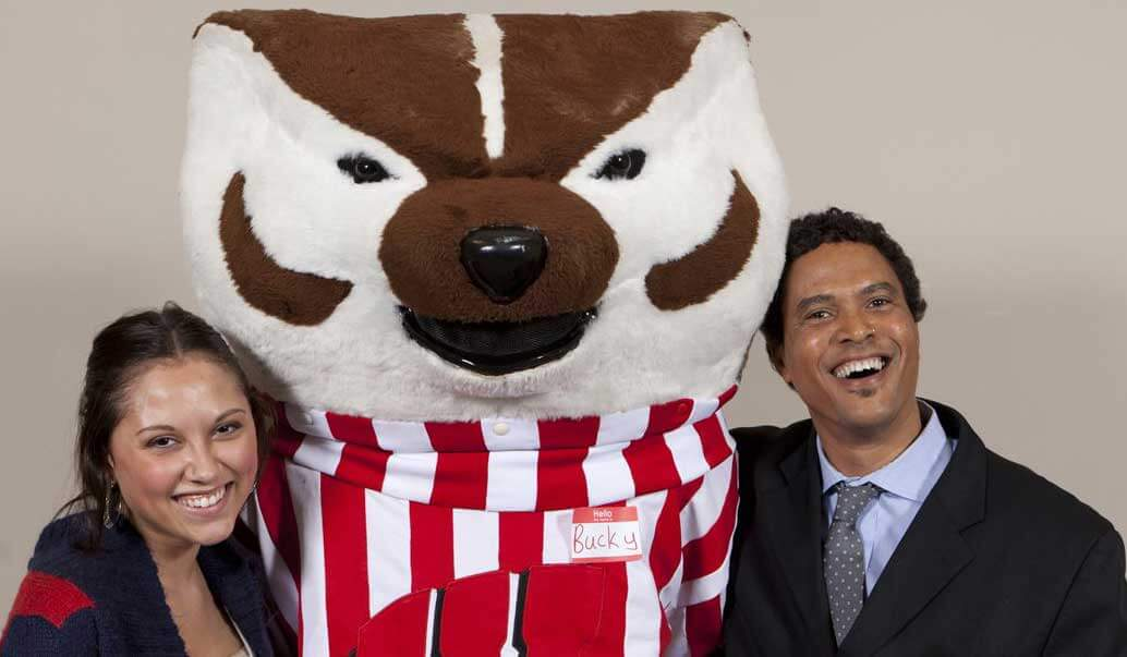Brian Benford with Bucky