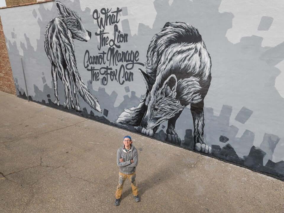 Landerman mural