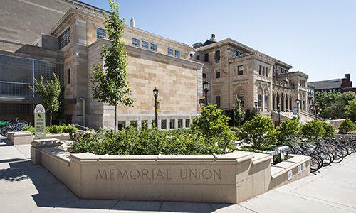 Memorial Union on the UW–Madison campus.