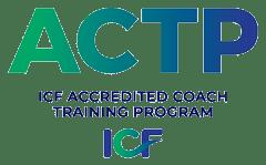 ACTP logo, ICF Accredited Coach Training Program