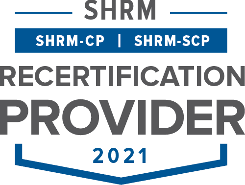 SHRM 2021 Certification logo