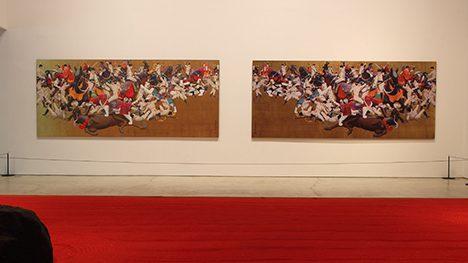 The painting 'Rhyme' by Tenmyouya Hisashi