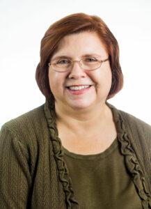 Headshot of Karen Skibba smiling
