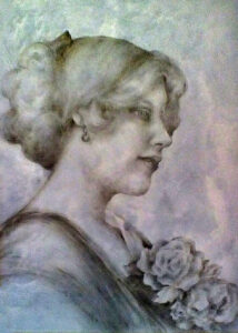 'Autumn Rose,' by Mabel Tousignant of Wausau.