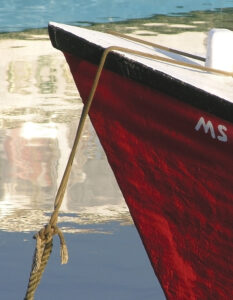 'Monet's Skiff,' by Sharon L. Dowis.