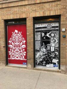 Door murals
