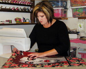 Laurie Ceesay working