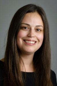 Academic advisor Autumn Sanchez