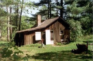 Aldo Leopold's shack in Baraboo, Wisconsin.