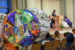 Congrats balloon