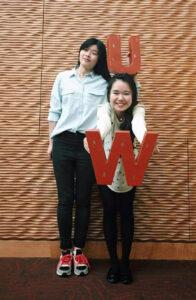 photo_2015 VISP graduation_Muye Huang and Kewei Dai