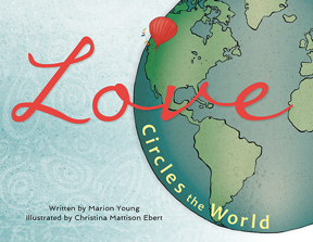 Young's children's picture book connects the dots among global cultures.