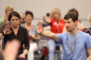 David Leventhal will explore the benefits of dancing for older adults with Parkinson's disease at the Summer Institute on Mental Disorders and the Older Adult, July 28-29.