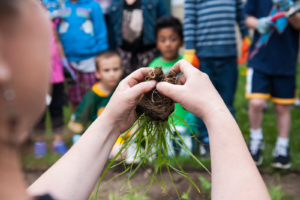 The new science curriculum has made 'waves of changes' at Nuestro Mundo. Photo by Sarah Niesen.