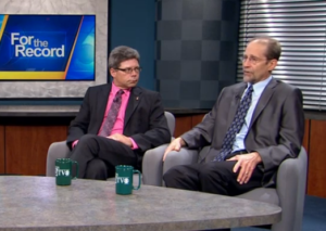Click on the photo to see WISC-TV's interview with Jeffrey S. Russell and Les Howles.