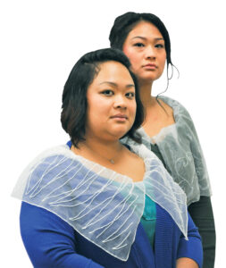 Bao and Mai Neng Thao in costumes as the Brontë sisters