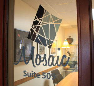 The project involved a collaboration with Mosaic Arts, a nonprofit dedicated to arts education in Green Bay.