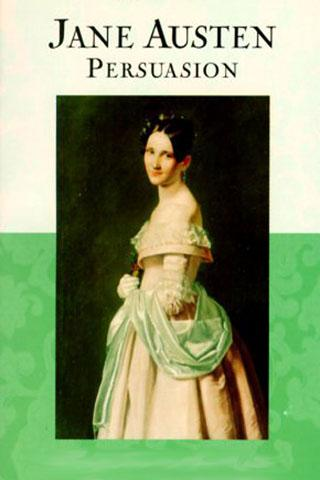 book cover: Persuasion by Jane Austen