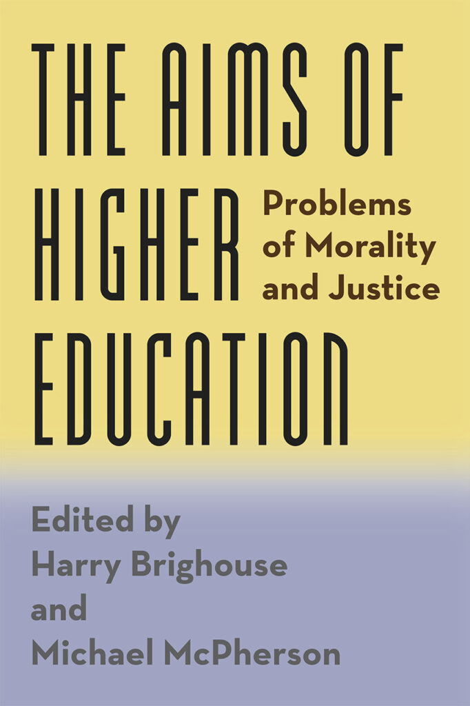 book cover: The Aims of Higher Education
