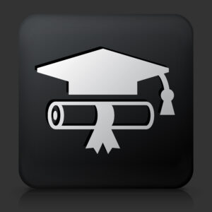 icon of graduation hat and diploma