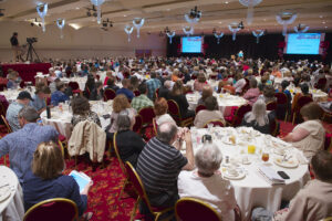 The 2014 Distance Teaching & Learning Conference packed Monona Terrace.