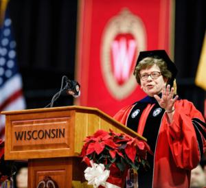 University of Wisconsin–Madison's Winter Commencement Ceremony